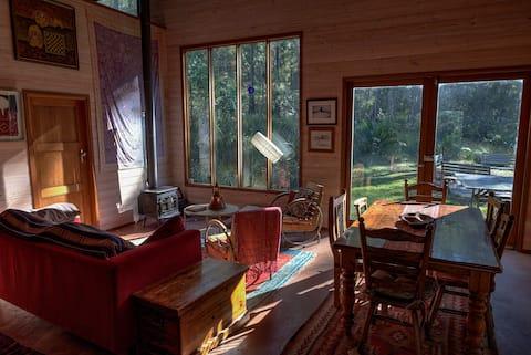 Congo Camp House in het bos