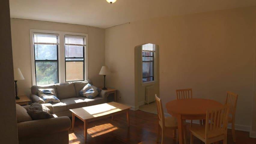 Sunny, quiet, clean - Dupont/AdMo - Washington - Apartamento