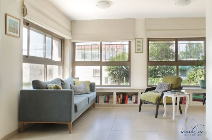 Jerusalem home for great family time