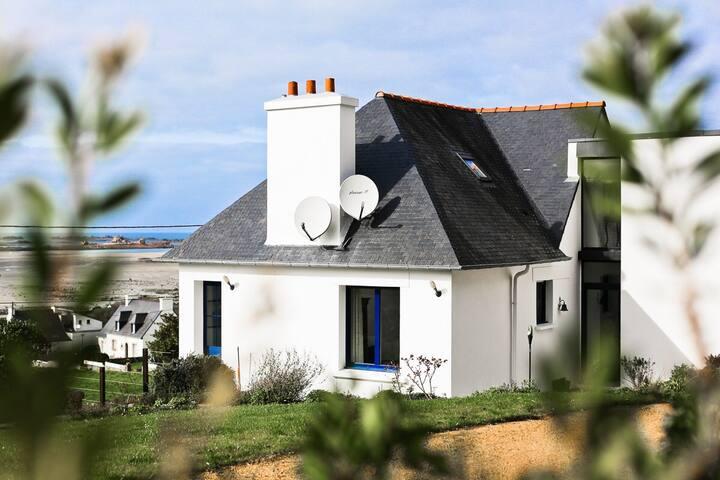 Ty ma bro maison vue sur mer - Plougrescant - 別荘