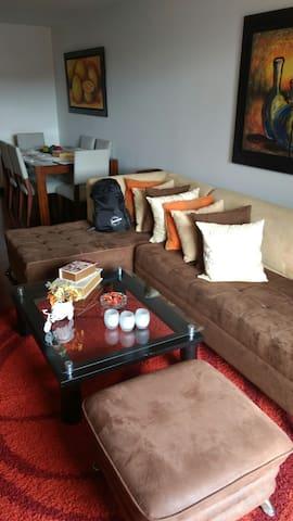Apto moderno con gran espacio Hab - Bogotá - Leilighet