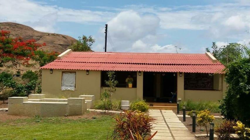 Farmhouse near nashik,trimbak road MTDC approved