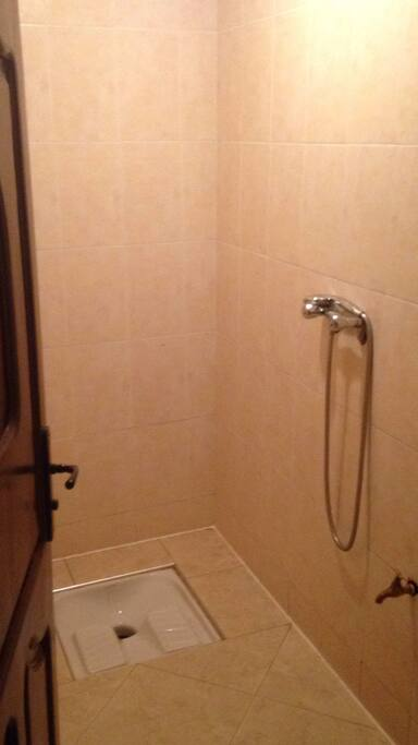 Dusche Toilette