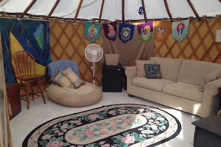 Yurt in the mountain town - Republic - Yurt