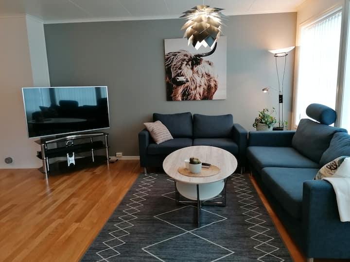 Moderne leilighet til utleie