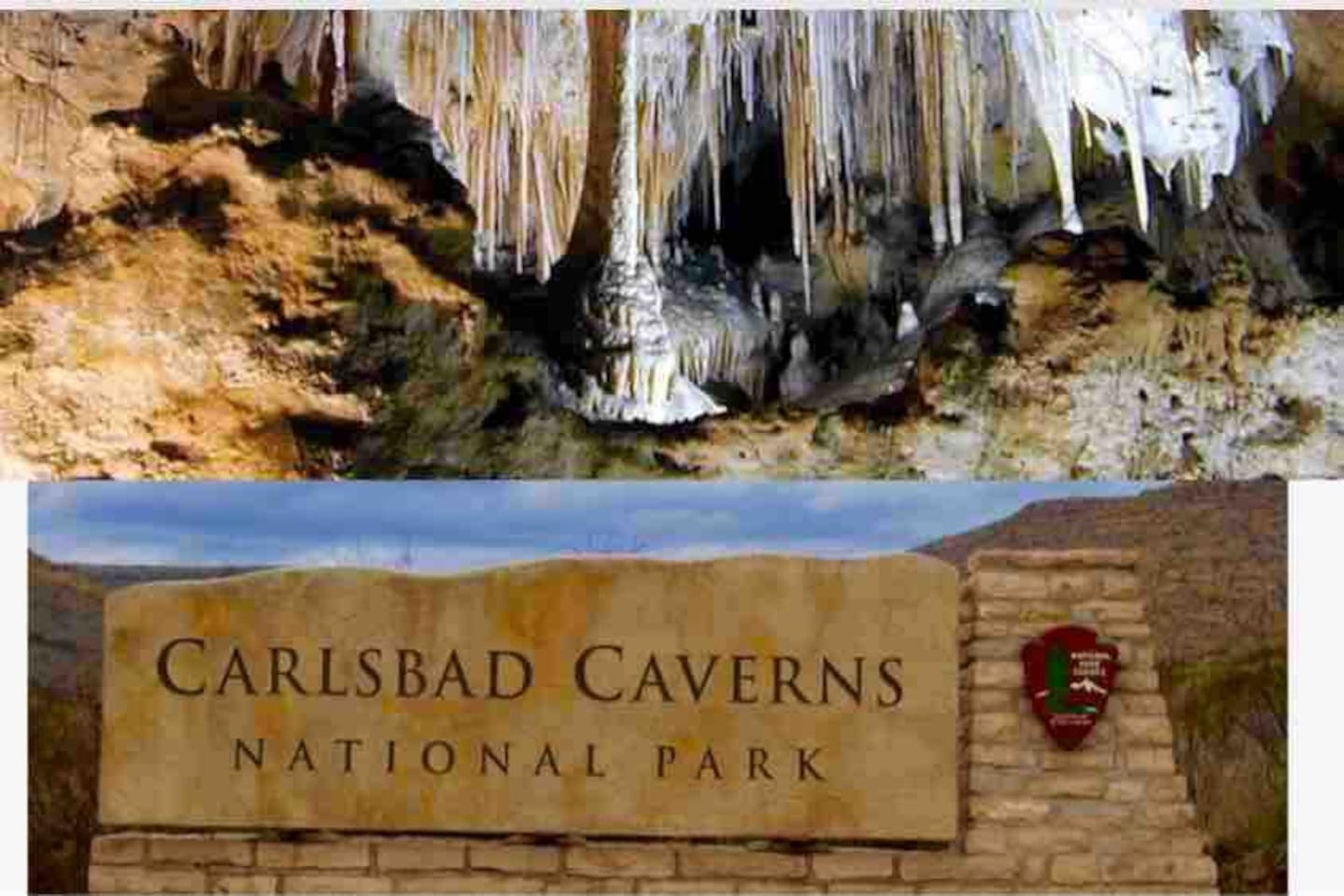 30 minutes away from the Carlsbad Caverns