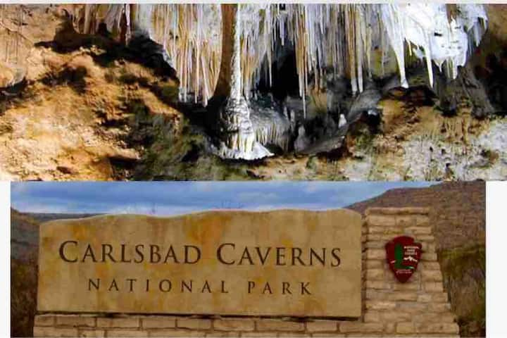 Relax by Pecos River and Carlsbad Caves!