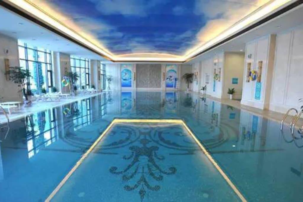 小区会所——室内游泳池