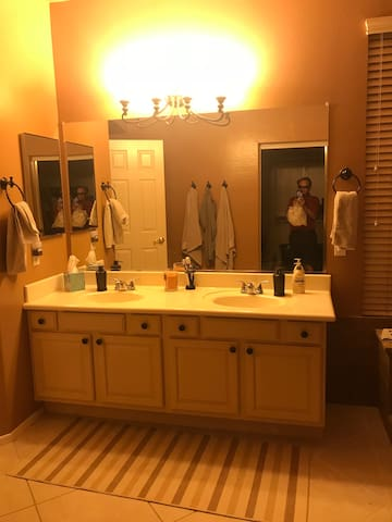 Guest Bathroom - may be shared if friends or family are in town