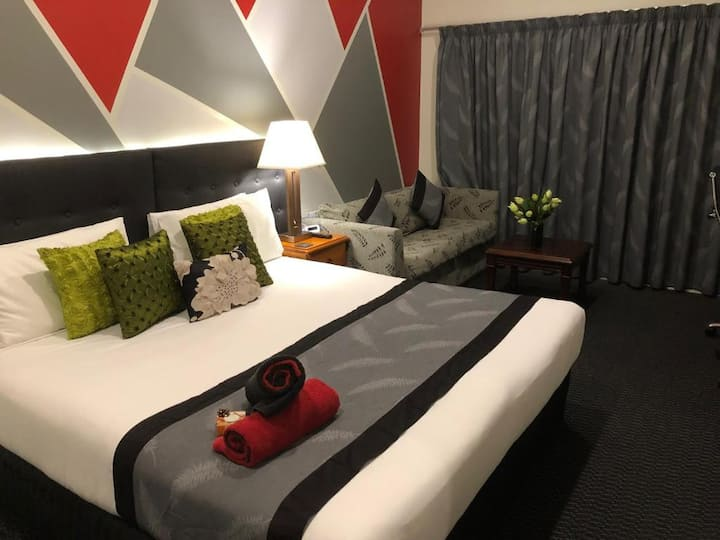 Double room with lake view taupo