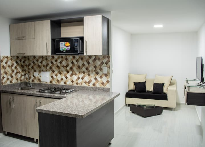 Apartahotel 222 Apartamento Nuevo y Comodo 6