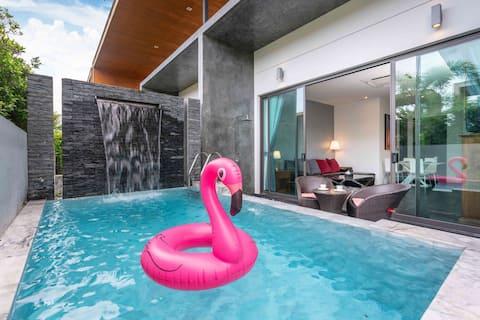 Light Luxury Two-Bedroom Private Pool Villa