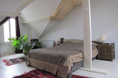 Chambre spacieuse dans maison - Rosny-sous-Bois - Hus