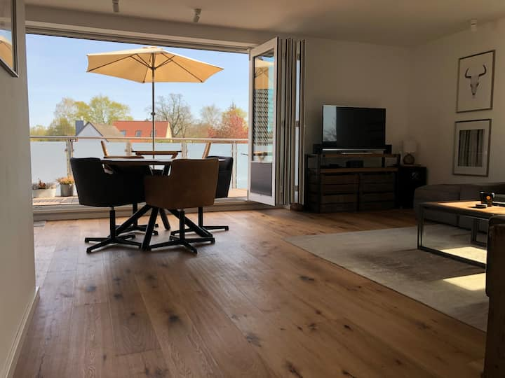 Traumhafte Wohnung im Oldenburger Land