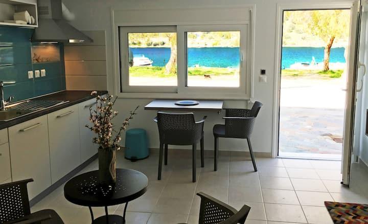 Sea Front Studio 33,5sq.m. - Evia Island