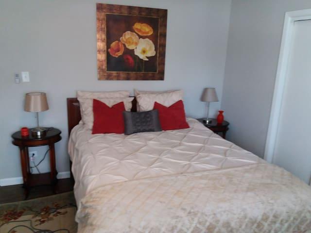 Spacioues Room in Clarendon Hills Apartment