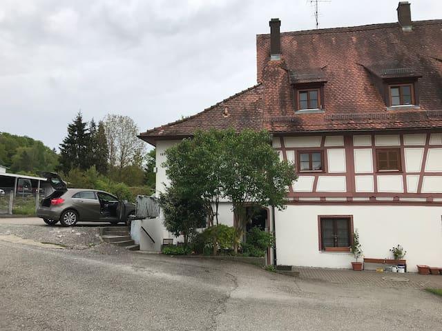 70qm Wohnung am Stadtrand in Fachwerkhaus