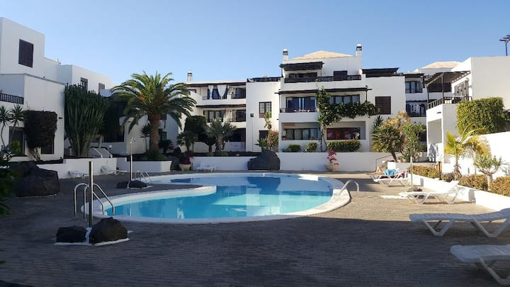 Bright and spacious aparment in Costa Teguise