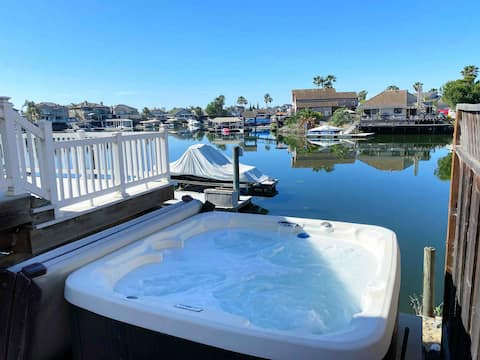 Waterfront Home with Hot Tub and Boat Dock