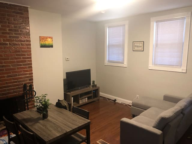Home in center city - full bed private room