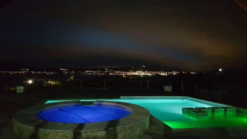 Cabañas Los Palmares; ¡Increible vista al Lago! 4 - Villa Parque Síquiman, Córdoba, AR - Apartamento