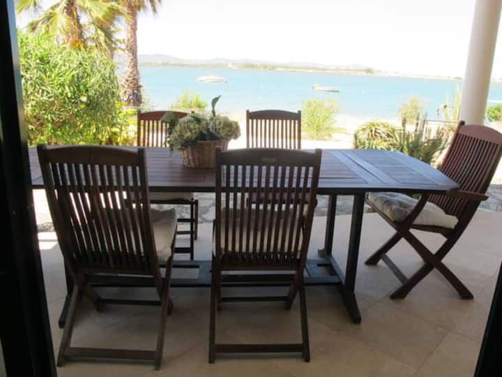 "Vacation Villa ""Faro Beach House"" with Sea View, Wi-Fi, Garden & Terrace; Parking Available on Property"