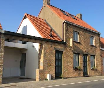 Historisch vissershuisje GRATIS 3de nacht - Koksijde - Hus