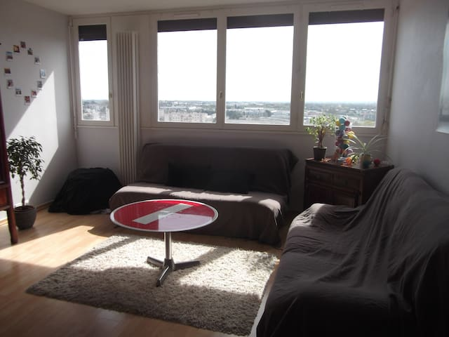 Appartement 70m² lumineux Angers