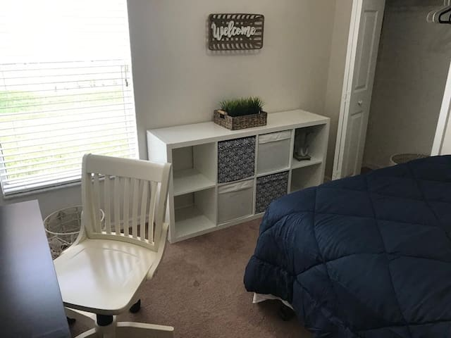 Cozy Bedroom Near Orlando Fl Airport/Parks/Outlets