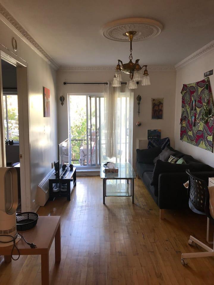 Cozy apartment in Plateau Mont Royal