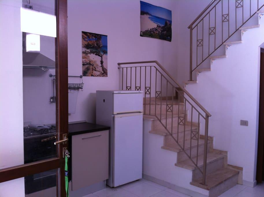 Trivano di 70 mq in casa a schiera su due piani for Piani di casa storici