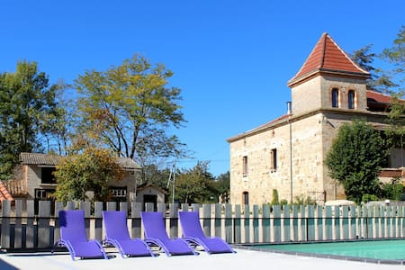 village of cottages, spa, pool, 4* - Molières