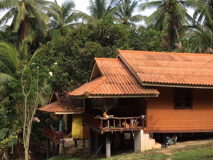 JAN IN Garden village in Wat Samaikongka