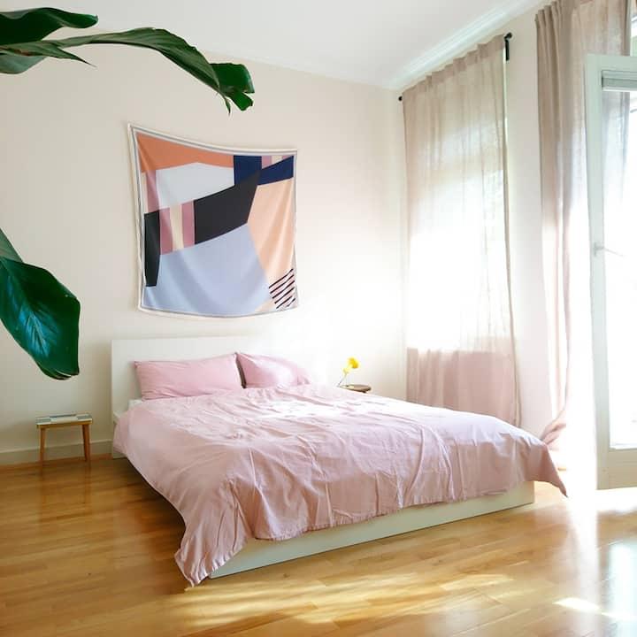 Large cosy room in vibrant Südvorstadt