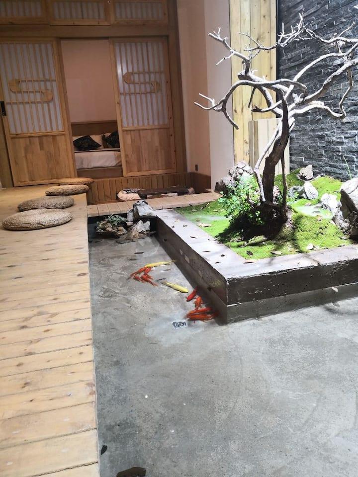 海河极简禅意【重楼】loft复式精品民宿