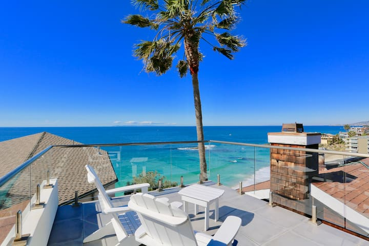 LAGUNA BEACH  almost oceanfront contemporary!
