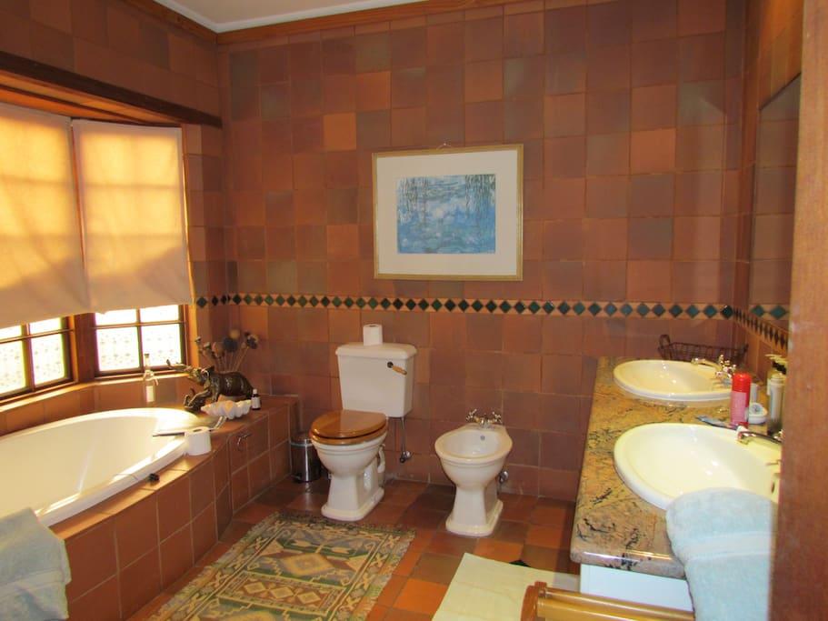 The Verandah Suite bathroom with shower
