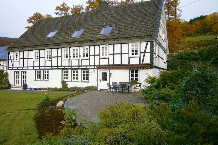Ruime vakantiewoning in Sauerland met privétuin