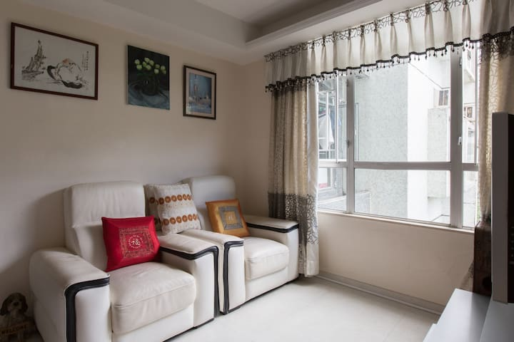 3 rooms, 10 mins walk to MTR, Wifi - Hongkong - Wohnung