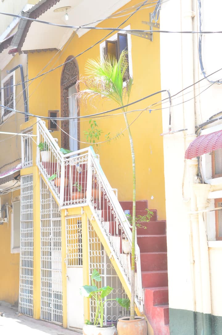 twin room in the heart of stone town