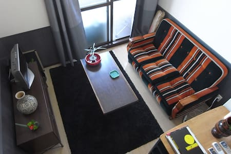 cozy room : 六本松駅 徒歩3分 - Фукуока - Квартира