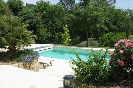 Apartment (2 Rooms) for 2-3 persons, Swimming Pool - Bagnols-en-Forêt - House