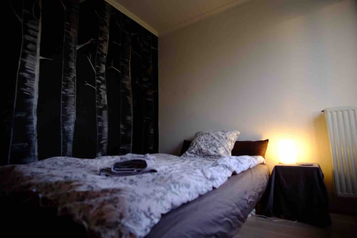 Cozy bedroom. 30min to city centre safe hood.
