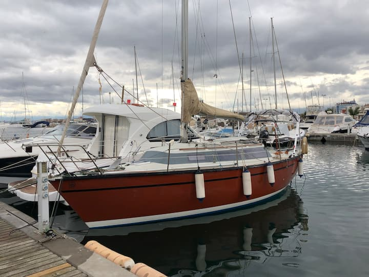 Fantastico velero de 8m
