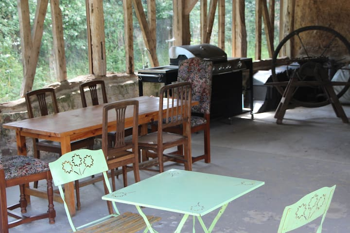 GRAND ESPACE BUCOLIQUE POUR CAMPING CARS - GAMPING