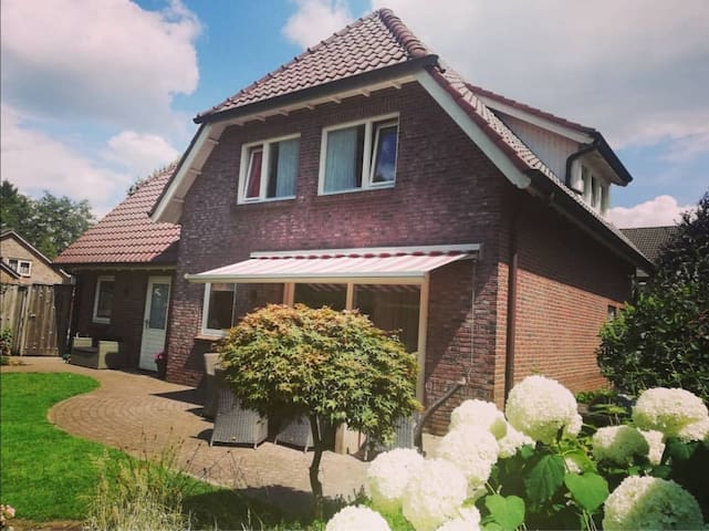 A large house for the perfect vacation in Twente