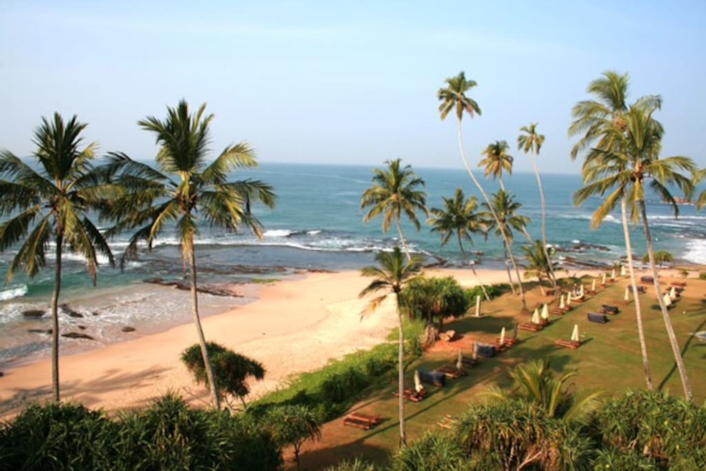 beach in Galle