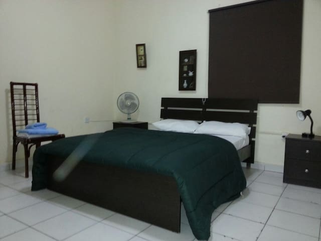 Low cost double bedroom 1