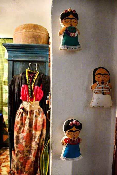 Habitación de Frida / Detalles