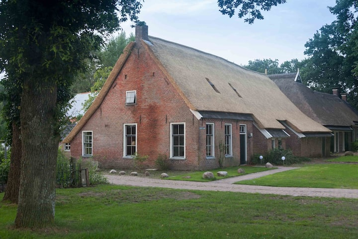 Holliday home in old farm with sauna and hottub
